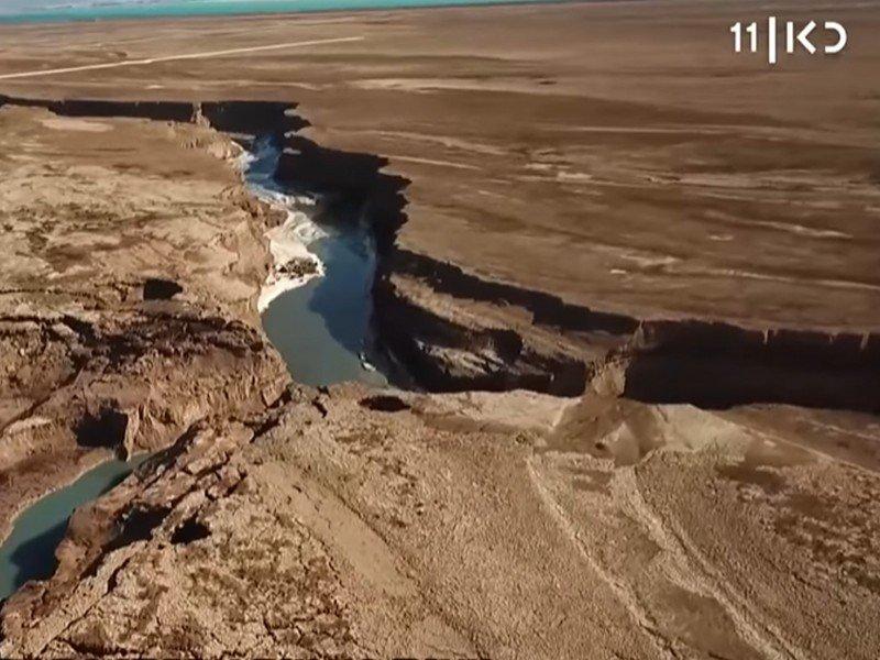 هذا ليس خيالاً: الكشف عن نهر عظيم بالقرب من البحر الميت