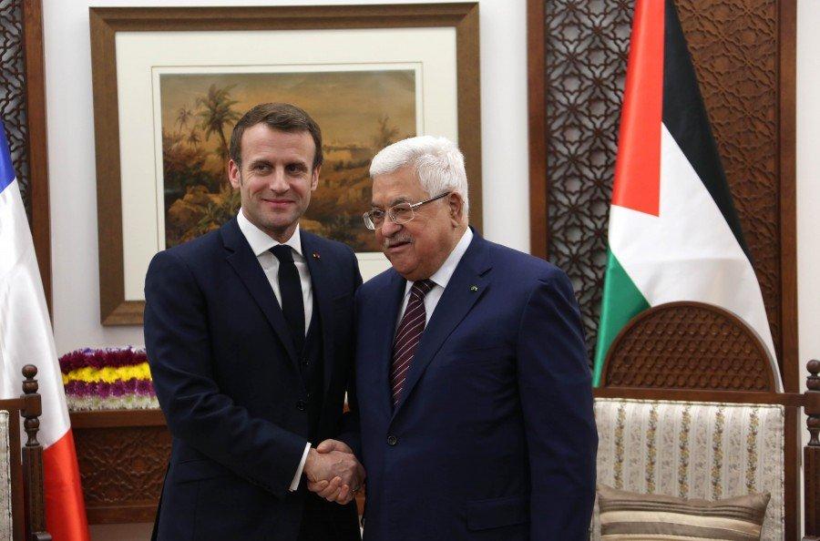 """الرئيس الفرنسي ماكرون يبلغ نتنياهو بمعارضته مخطط """"الضم"""""""