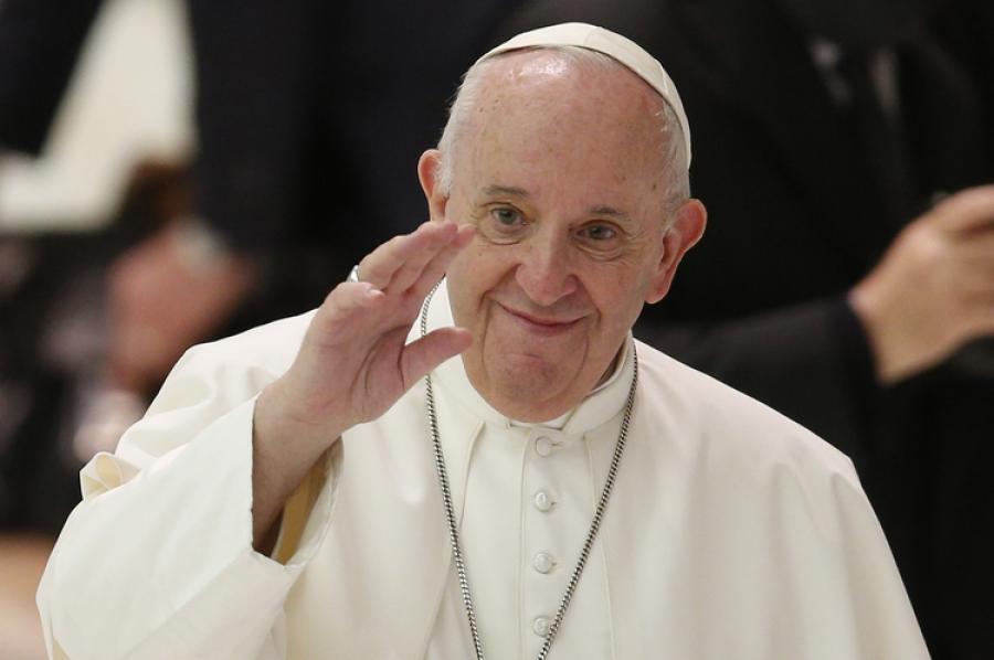 البابا فرانسيس يدين اعتداءات رجال الدين الجنسية ويدعم زواج المثليين المدني
