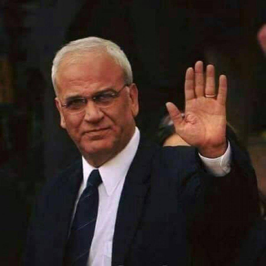 القائد الوطني صائب عريقات وداعا